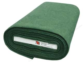 "national nonwovens felt: National NW WoolFelt 35% 36"" Bolt Grassy Meadows (10 yards)"