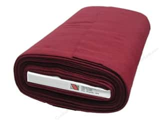 "National NW WoolFelt  36"" Bolt Burgundy (10 yards)"