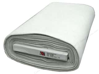 "National Non Wovens Felt on Bolt: National Nonwovens WoolFelt  36"" Bolt Antique White (10 yards)"