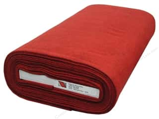 "National Non Wovens Felt on Bolt: National Nonwovens WoolFelt  36"" Bolt Barnyard Red (10 yards)"