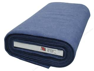 "National Non Wovens Felt on Bolt: National Nonwovens WoolFelt  36"" Bolt Denim (10 yards)"