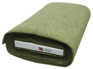 "National Non Wovens Felt on Bolt: National Nonwovens WoolFelt  36"" Bolt Reets Relish (10 yards)"