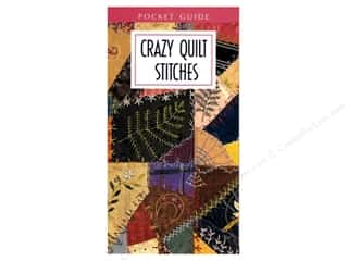 Leisure Arts Yarn & Needlework: Leisure Arts Crazy Quilt Stitches Pocket Guide Leaflet