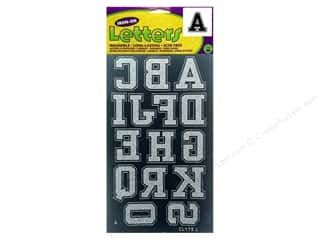 Dritz Iron On Collegiate Letters 1 3/4&quot; Black