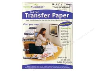 Printing Art Accessories: TransferMagic.com Ink Jet Transfer Paper 6 pc