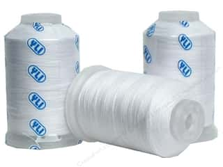 YLI Polyfil 60/2 Polyester Thread 1000yd White