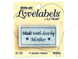 Blumenthal Quilting: Blumenthal Lovelabels Made with Love by Mother