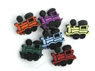 Jesse James Embellishments Trains