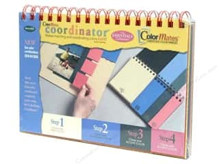 Clearance Blumenthal Favorite Findings: ColorMates Cardstock Color Family Coordinator #1