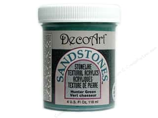 Decoart: DecoArt Sandstones 4oz Hunter Green