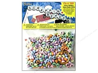 Darice Scrappin Beads Color 300 pc