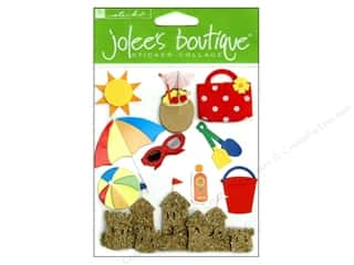 Clearance Blumenthal Favorite Findings: Jolee's Boutique Stickers Fun At The Beach