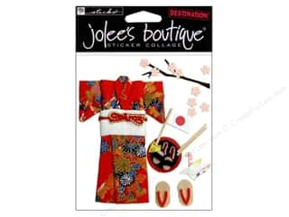 EK Success Vacations: Jolee's Boutique Stickers Kimono