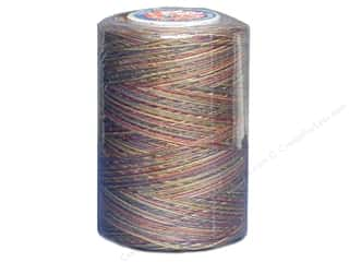 Coats &amp; Clark Star Variegated Mercerized Cotton Quilting Thread 1200 yd. Teaberries