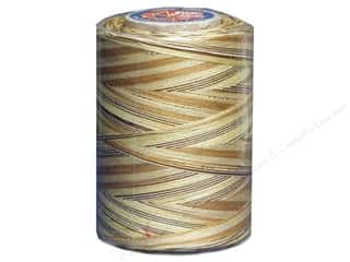 Coats &amp; Clark Star Variegated Mercerized Cotton Quilting Thread 1200 yd. Sandstone