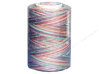 Coats & Clark Star Variegated Mercerized Cotton Quilting Thread 1200 yd. Over/Rainbow