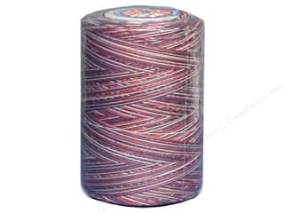 Stars: Coats & Clark Star Variegated Mercerized Cotton Quilting Thread 1200 yd. #815 Americana