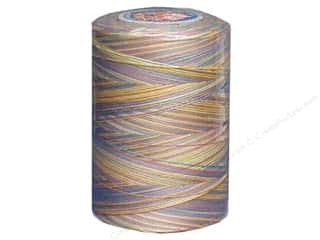 Coats &amp; Clark Star Variegated Mercerized Cotton Quilting Thread 1200 yd. Gum Balls