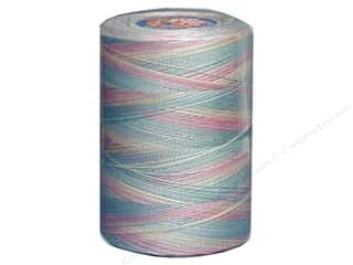 Coats &amp; Clark Star Variegated Mercerized Cotton Quilting Thread 1200 yd. Baby Pastels