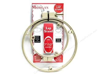 embroidery hoop: Morgan Quality Prod Lap Stand Combination 7&quot;/10&quot;