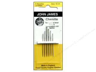 John James Needle Chenille 6 pc Size 18/24 (3 packages)