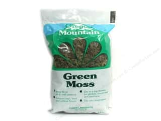 Moss Oregon Mountain Moss: Oregon Mountain Moss Green 134 Cubic Inch Bag