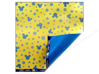 EK Paper 12x12 Disney Mickey Double Polka Dots (25 sheets)