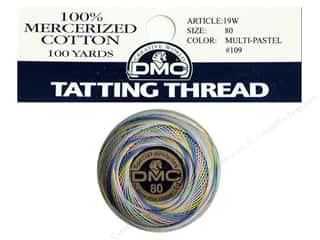 DMC Tatting Cotton Size 80 Variegated Pastel