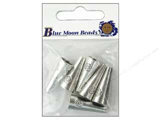 Blue Moon Finding Metal Cones Flower Silver