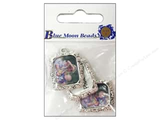 Blue Moon Charms Metal Photo Frame #4 Slvr