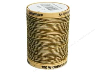 Gutermann Cotton Thread: Gutermann Machine Quilting Thread 875 yd. #9928 Variegated Butternut