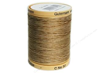 Gutermann Cotton Thread: Gutermann Machine Quilting Thread 875 yd. #9938 Variegated Coffee & Cream