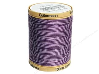 Gutermann Cotton Thread: Gutermann Machine Quilting Thread 875 yd. #9978 Variegated Purple Passion