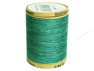 Gutermann Cotton Thread: Gutermann Machine Quilting Thread 875 yd. #9989 Variegated Bahama Ocean