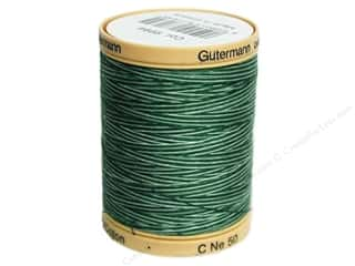 Gutermann Cotton Thread: Gutermann Machine Quilting Thread 875 yd. #9994 Variegated Foliage Green