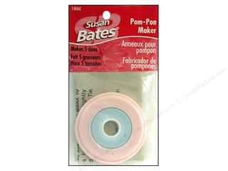 Fringe Makers / Tassel Makers / Pom Pom Makers: Bates Pom-Pon Maker 5 in One