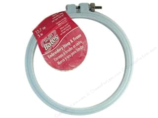 Susan Bates Sewing Construction: Bates Embroidery Hoops Luxite Blue 5""