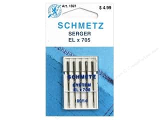 schmetz embroidery needle: Schmetz Serger Needle ELx705 Szize 90/14