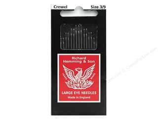 Needles / Hand Needles Hand Embroidery Needles: Hemming Needle Crewel/Embroidery Size 3/9 15pc (3 packages)