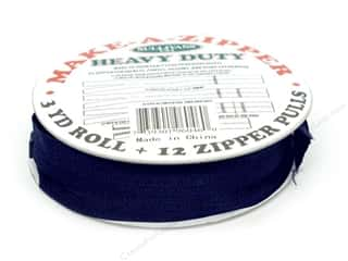 Sullivans Heavy-Duty Make-A-Zipper 3yd Reel Navy