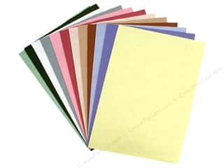 National Non Wovens Black: National Nonwovens WoolFelt 12 x 18 in. 35% Spring Collection (12 sheets)