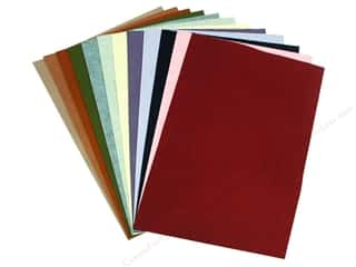 Wool Wool Fabrics: National Nonwovens WoolFelt 12 x 18 in. 20%/35% Trendy Accents (10 sheets)
