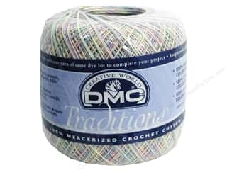 Staple Yarn & Needlework: DMC Traditions Crochet Cotton 350 yd Varigated Pastel