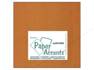 Clearance Length: Cardstock 12 x 12 in. #886C Pearlized Copper by Paper Accents (25 sheets)