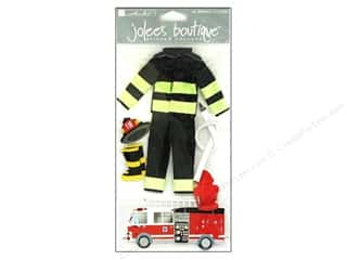 Careers & Professions Crafting Kits: Jolee's Boutique Stickers Large Firefighter