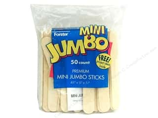 Forster Craft Stick Mini Jumbo 50pc