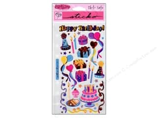 Birthdays Stickers: EK Sticko Stickers Birthday Party