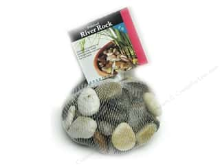 Panacea Decorative Accents River Rock Assorted Colors 2lb Bag