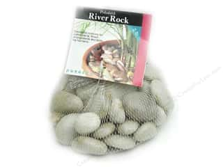 Floral Arranging Toys: Panacea Decorative River Rock 2 lb. White