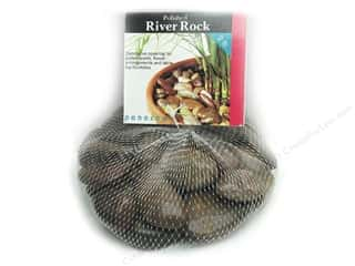 Floral Arranging Toys: Panacea Decorative River Rock 2 lb. Rust